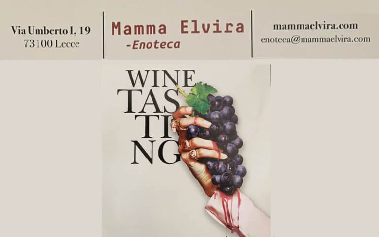 Mamma Elvira wine shop