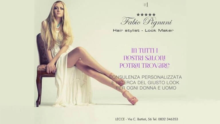 Hair Stylist in Lecce